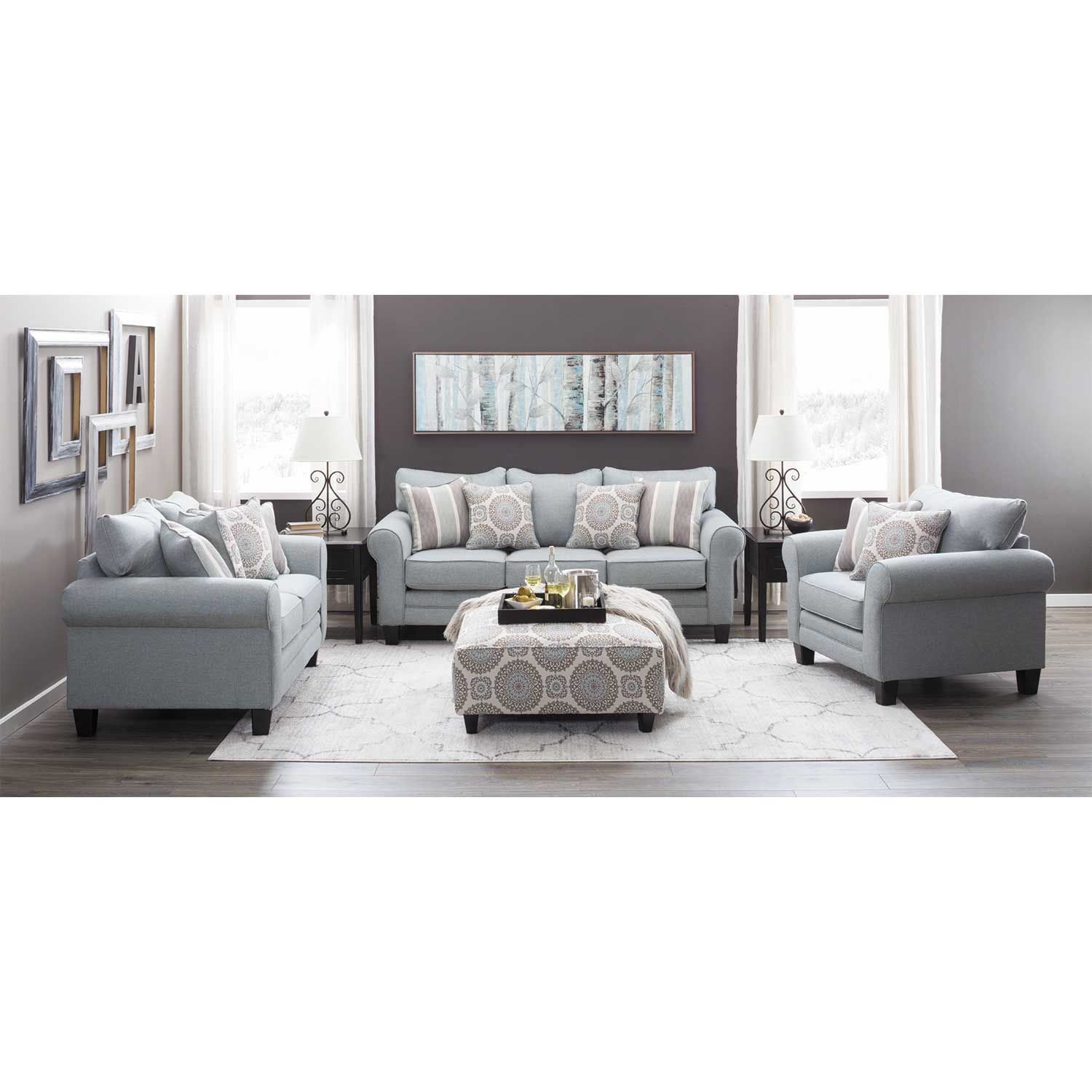 Picture of Brianne Mist Loveseat