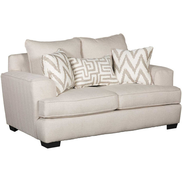 Picture of Mallory Oatmeal Loveseat