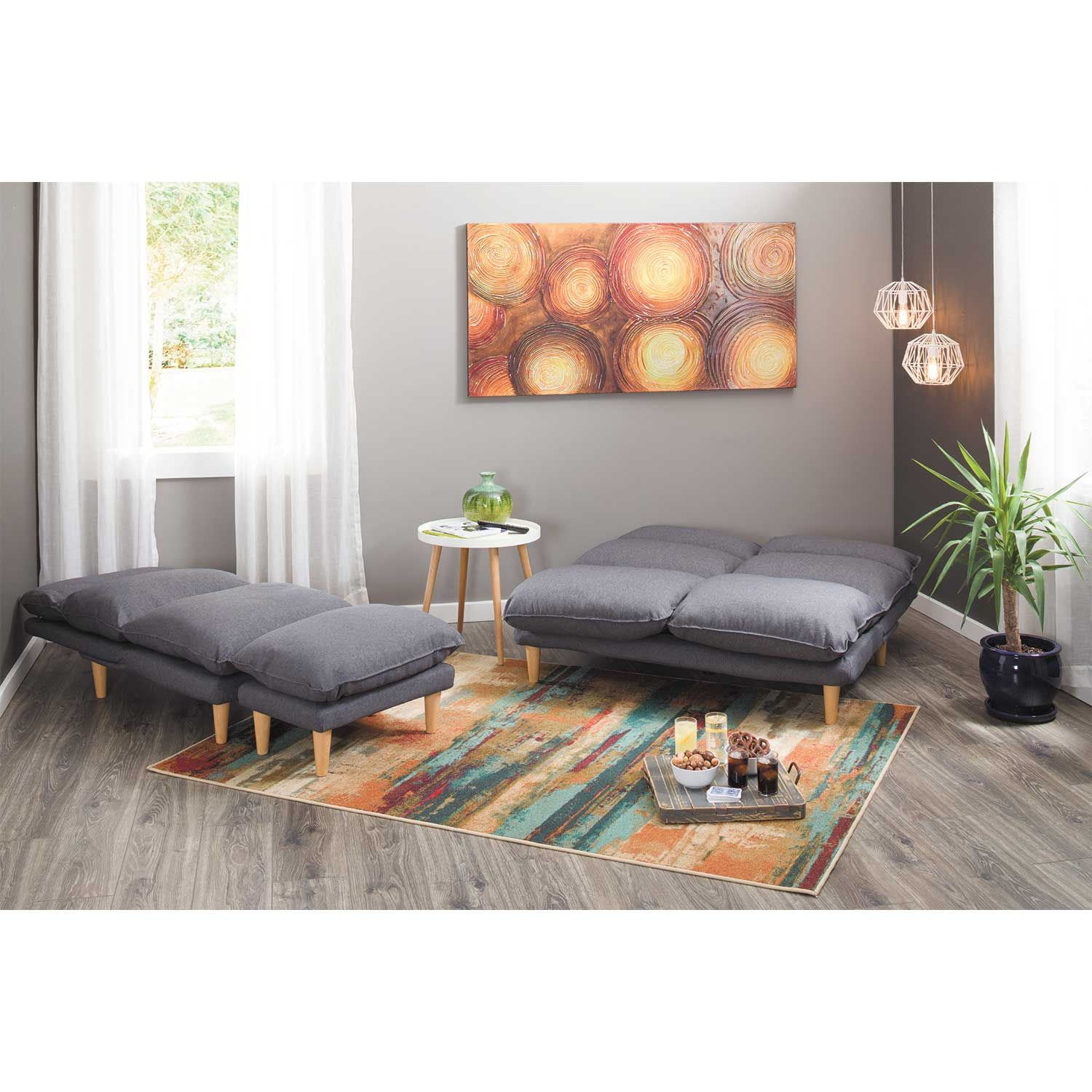 Picture of Lounge Gray Ottoman