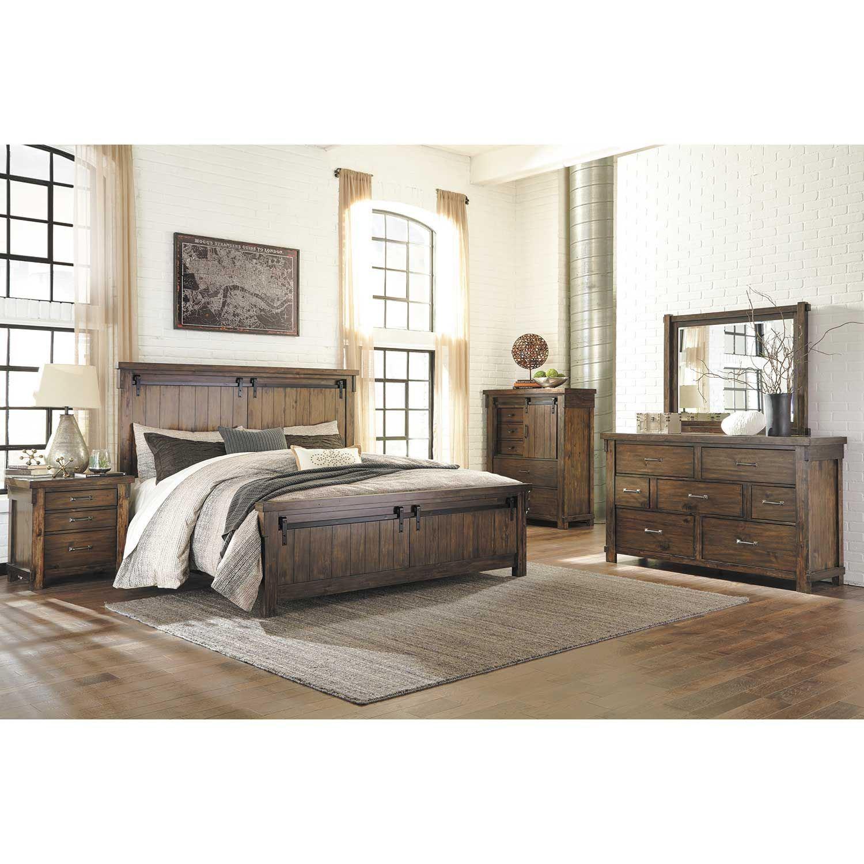 Lakeleigh 5 Piece Bedroom Set B718 Qbed 31 36 46 93 Ashley Furniture Afw Com
