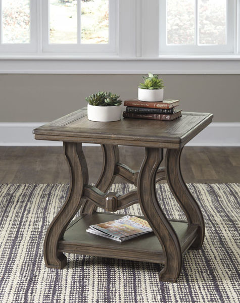 Picture of Tanobay Square End Table * D