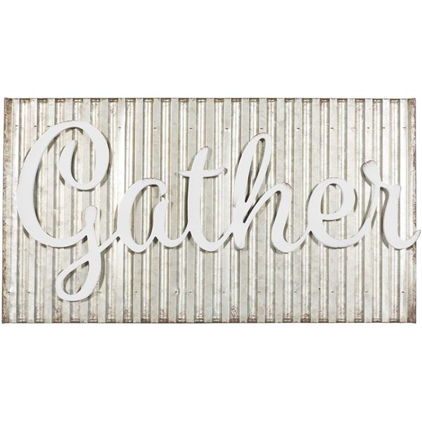 Picture of Gather Metal Sign
