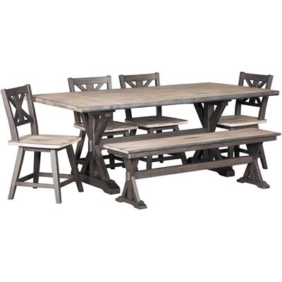 Picture of Urban Farmhouse 6 Piece Dining Set
