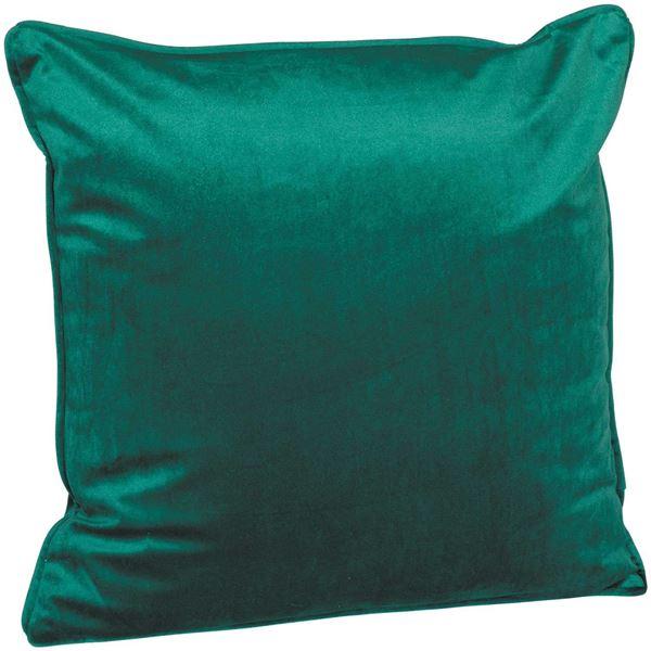 Picture of 18X18 Emerald Velvet Decorative Pillow