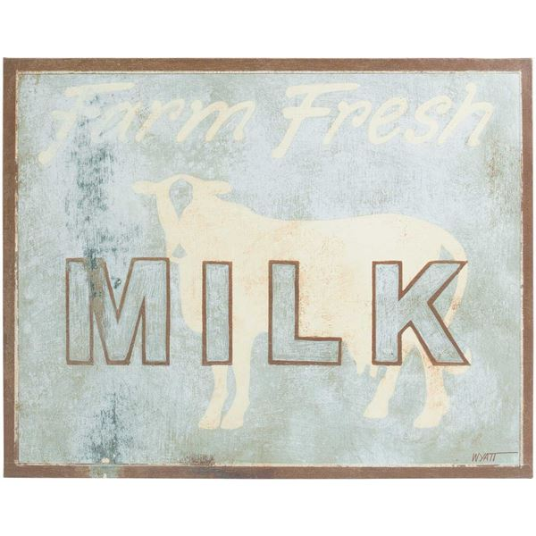 Picture of Milk Canvas