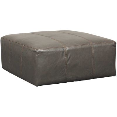 Picture of Denali Italian Leather 40x40 Ottoman
