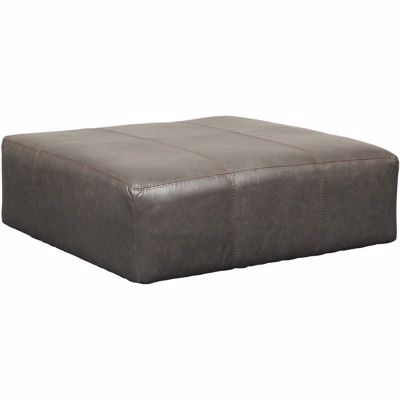 Picture of Denali Italian Leather Cocktail Ottoman