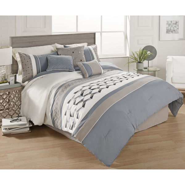 Picture of Bailey 7 Piece Queen Comforter Set
