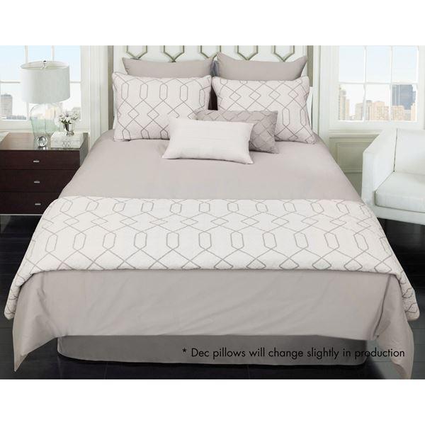 Picture of Kensil Queen 8 Piece Comforter Coverlet