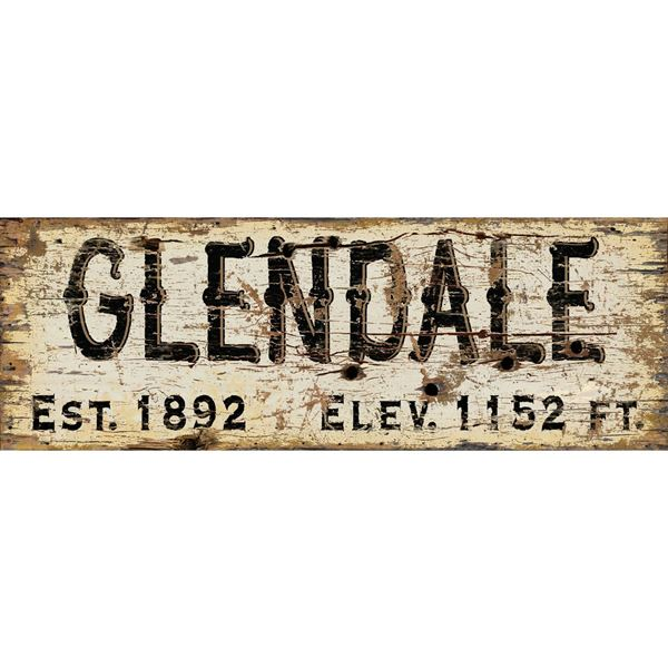 Picture of Glendale Vintage Sign