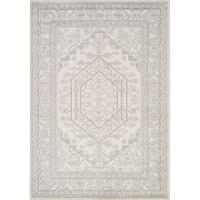 Picture of Focus Soft Grey Traditional 8x10 Rug