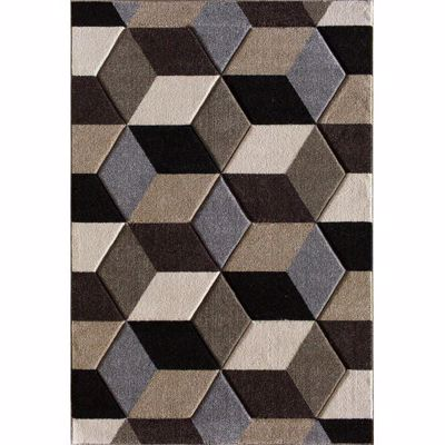 Picture of Pinnacle Fontanelle Blocks 8x10 Rug
