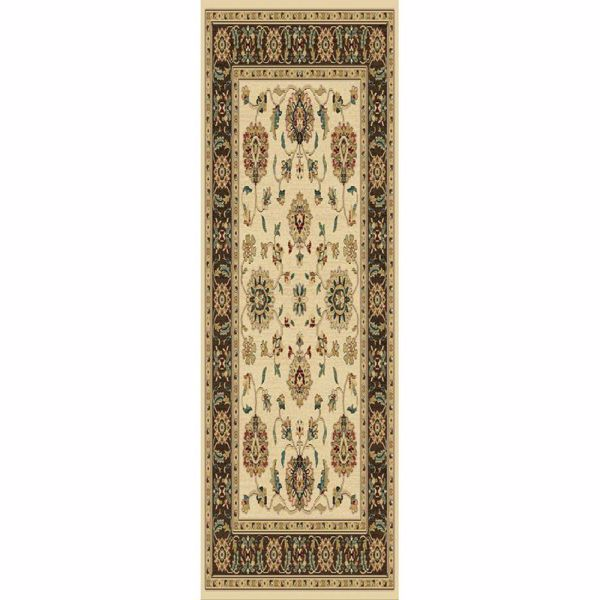 Picture of Thayer Wheat/Brown 2x7 Rug
