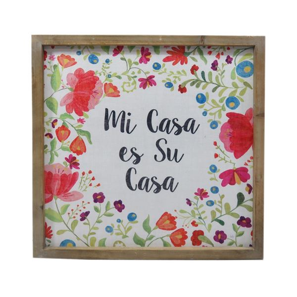 Picture of Mi Casa Es Su Casa Wall Decor