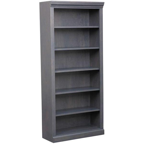 Picture of Platinum Grey Bookcase, 5 Shelf