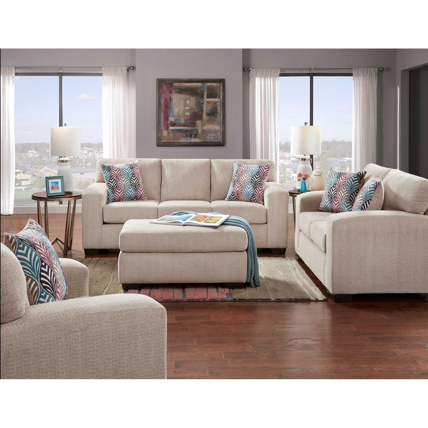 Picture of Charisma Platinum Sofa
