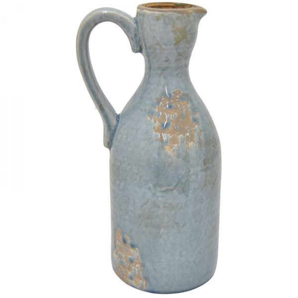 Picture of Blue Distressed Pitcher Vase