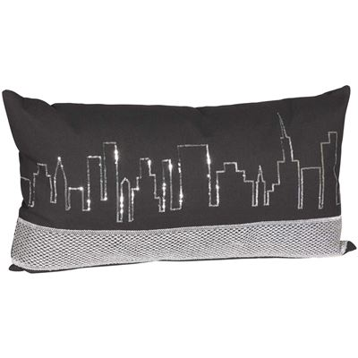 Picture of 14x26 Cityscape Decorative Pillow *P