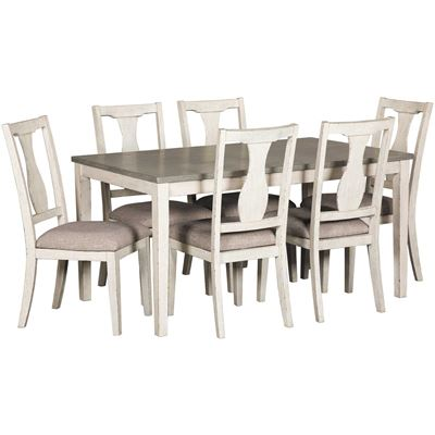 Picture of Gardenia Two-Tone 7 Piece Set