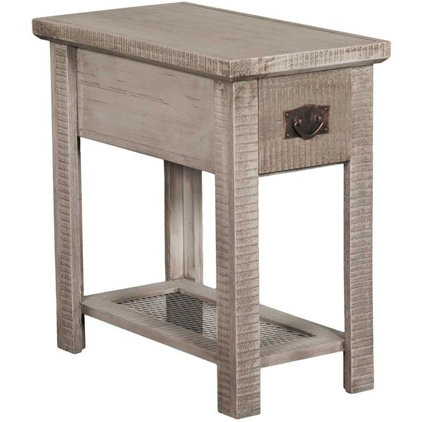 "Picture of 24"" Chairside Table, Grey"