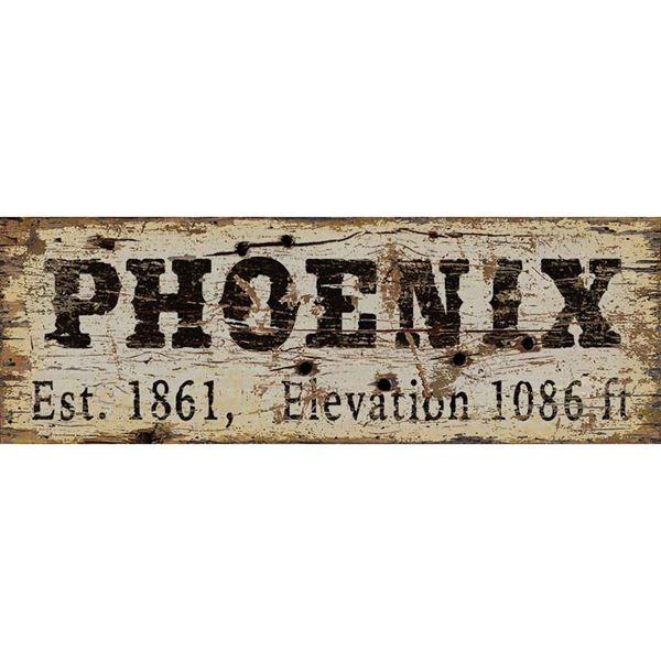 Picture of Phoenix Vintage Sign