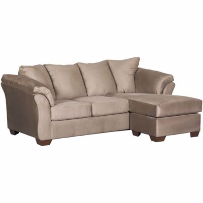 Picture of Cobblestone Gray Reversible Sofa Chaise