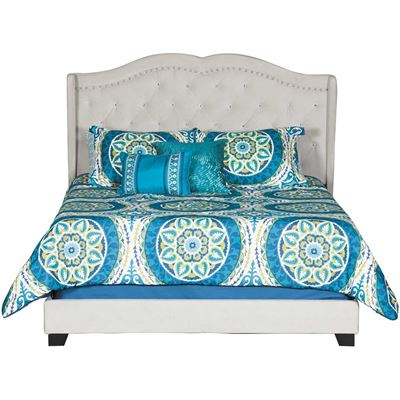 Picture of Aden Upholstered Queen Bed