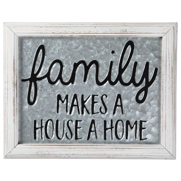 Picture of Family Makes A Home Sign