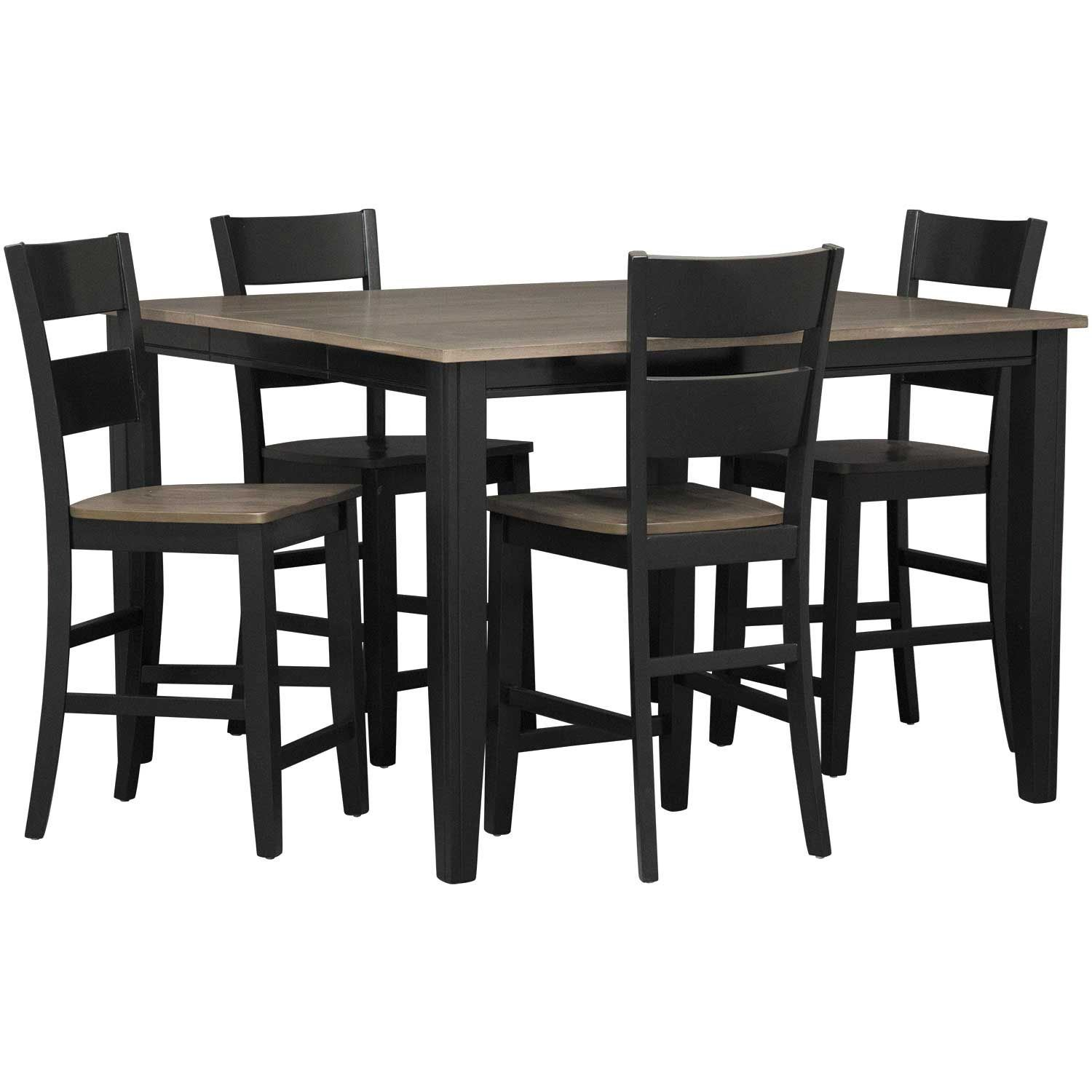 Picture of Earl 5 Piece Counter Height Set