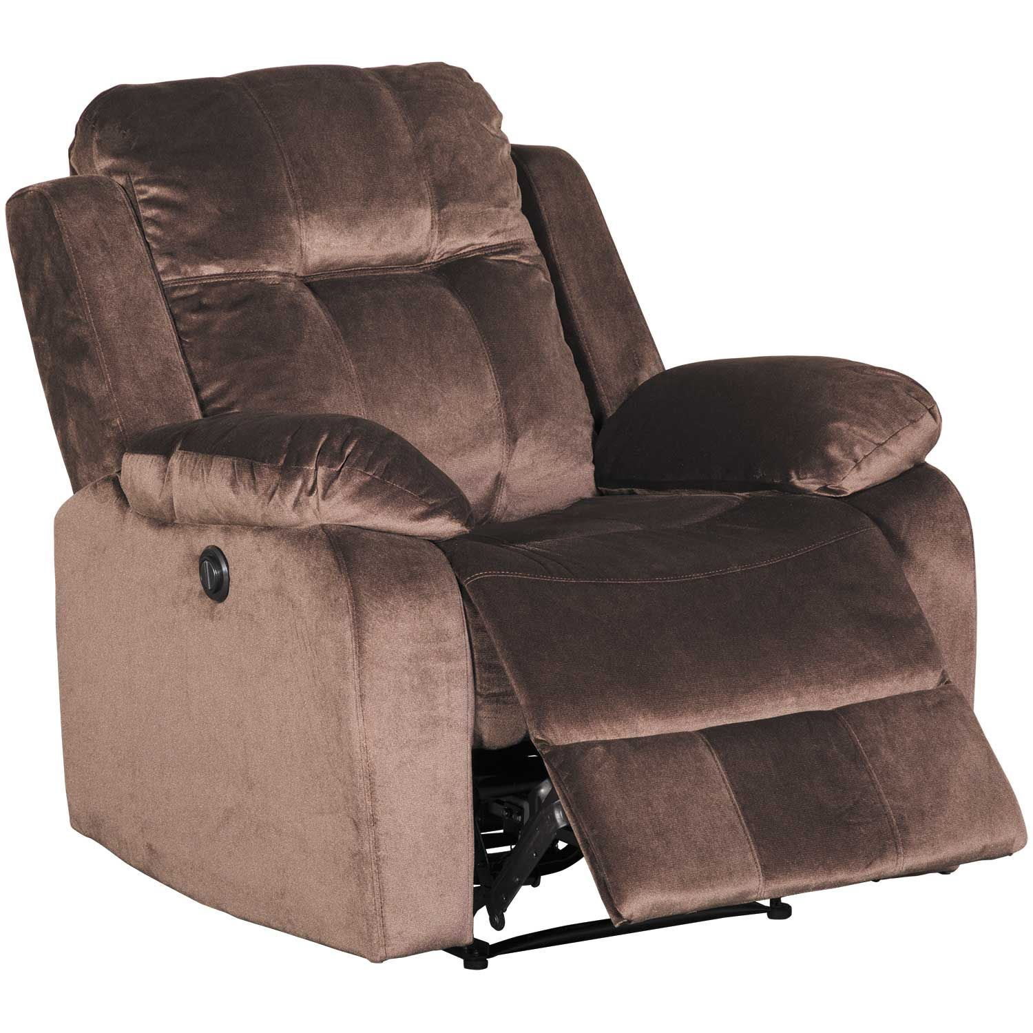 Picture of Chocolate Power Recliner