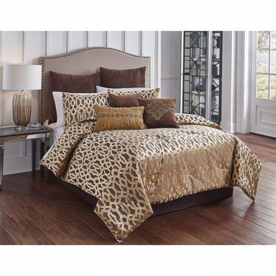 Picture of Claremont Bronze Queen Comforter Set