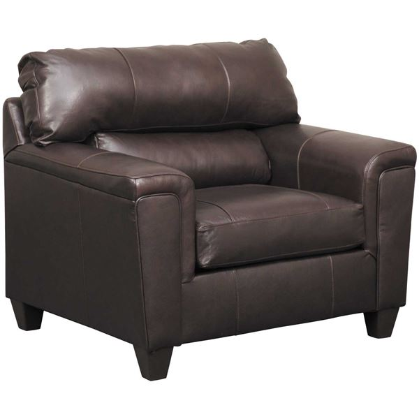 Picture of Graham Bark Leather Chair