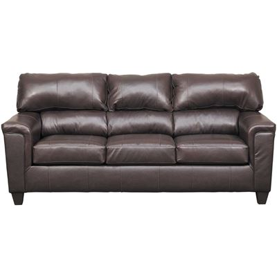 Picture of Graham Bark Leather Sofa