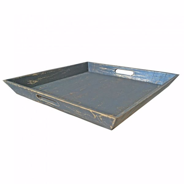 Picture of Large Vintage Tray Gray