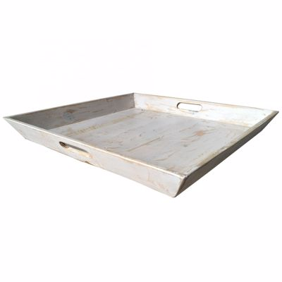 Picture of Large Vintage Tray White
