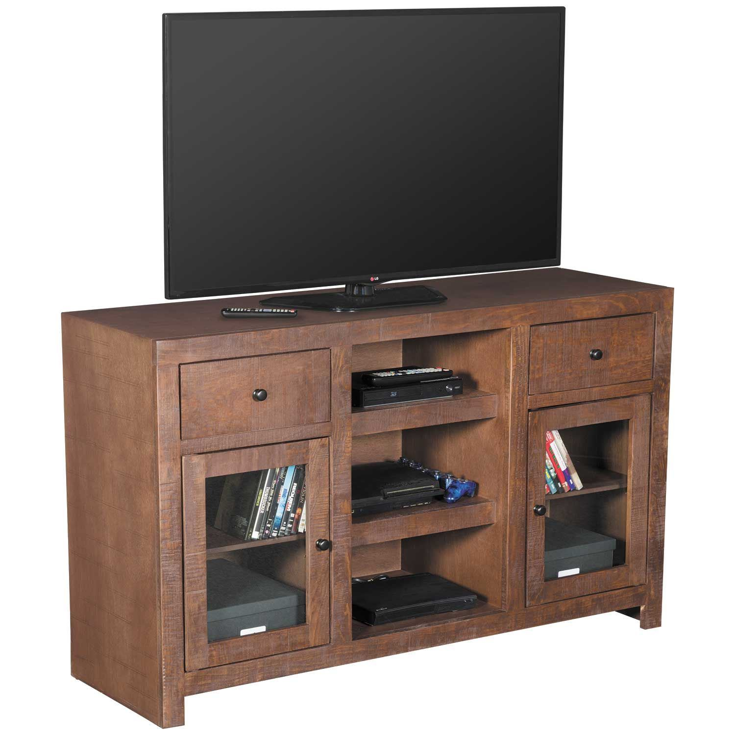 Picture of 52 Inch Canon TV Stand, Chocolate