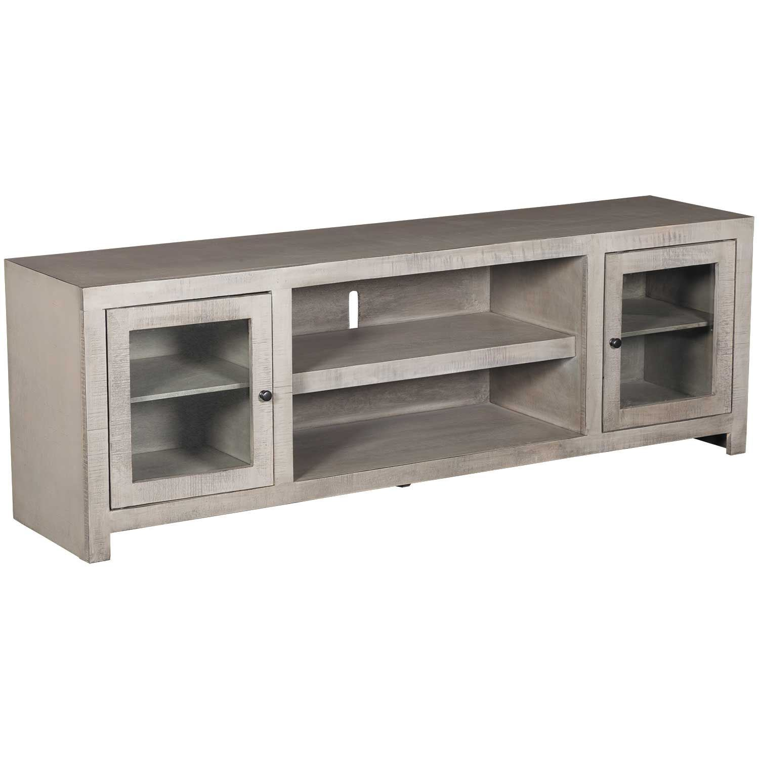 Picture of 72 Inch Canon TV Stand, Rain Gray