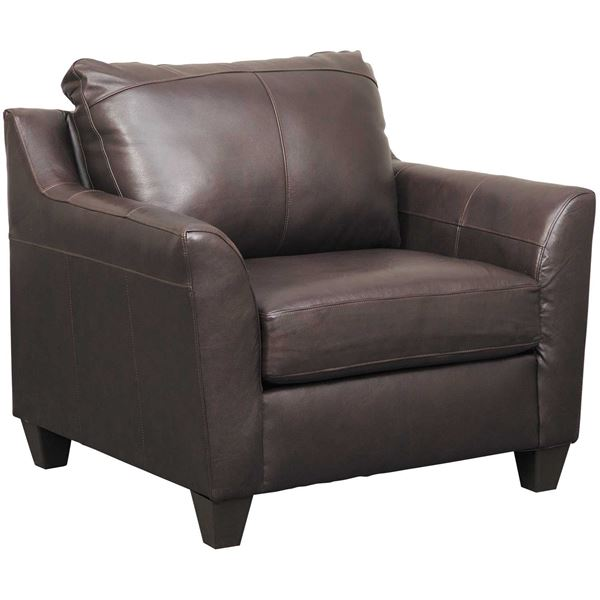Picture of Declan Bark Leather Chair