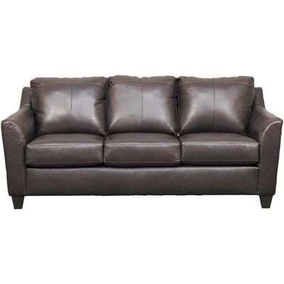 Picture of Declan Bark Leather Sofa