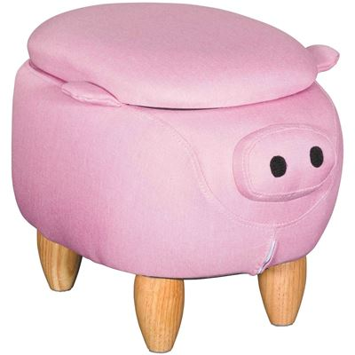 Picture of Pig Storage Ottoman