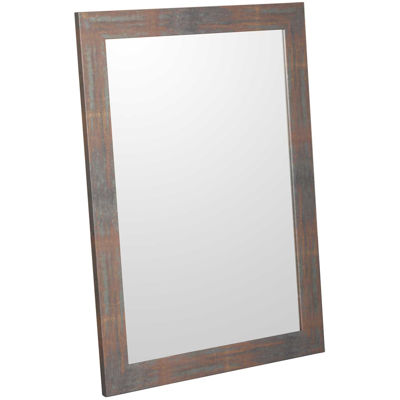 Picture of Aged Metal Look Wall Mirror