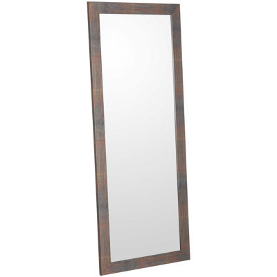 Picture of Aged Metal Look Leaner Mirror