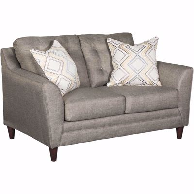 Picture of Jensen Grey Tufted Loveseat