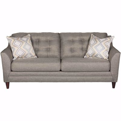 Picture of Jensen Grey Tufted Sofa
