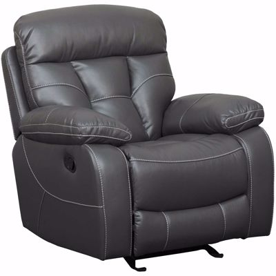 Picture of Peoria Gray Glider Recliner