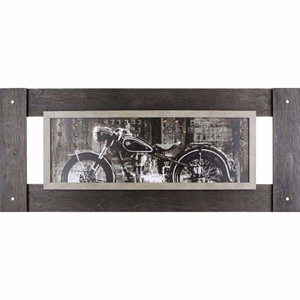Picture of Vintage Motorcycle Art