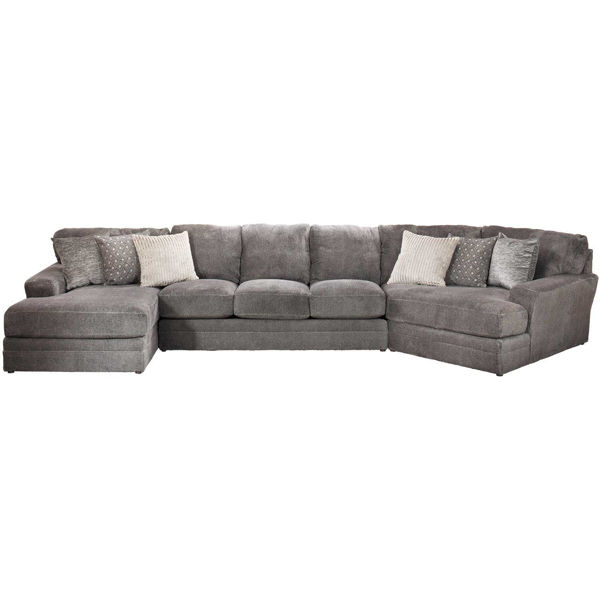Picture of Mammoth 3 Piece Sectional with LAF Chaise and RAF Wedge