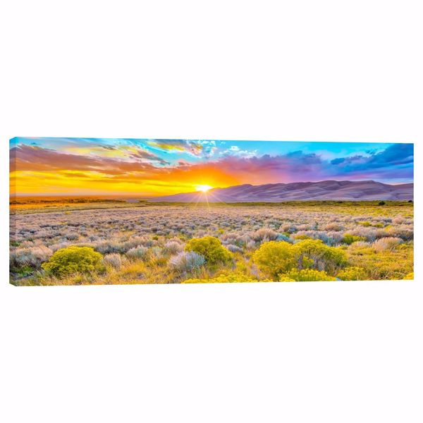 Picture of Autumn Sunset in the Great Sand Dunes 20X60 *D