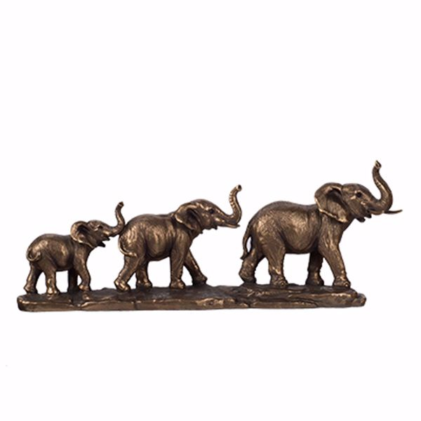 Picture of Elephant Family Sculpture