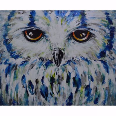 Picture of The Owl Hand Painted Canvas
